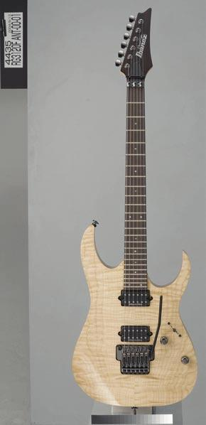 Ibanez s famous thin, flat and fast Wizard necks. Prestige neck finishing offers effortless