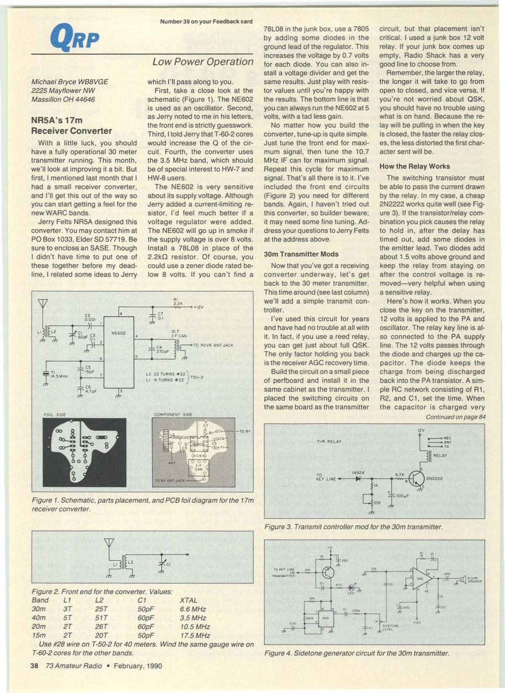 Ffi Rfi W 000 G Rolf L J O1kb Pdf Kenwood Tk 840 940 941 Radio Interface Cable Description And Schematic Michael Bryce Wb8 Vge 2225 Mayflower Nw Massillon Oh 44646 Nrsas 17m Receiver Converter With A