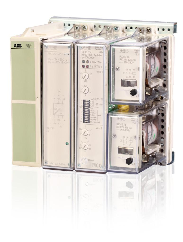 Transformer And Generator Time Overexcitation Relay Protection Current Monitoring Abb Assemblies Rxlk 2h Ralk