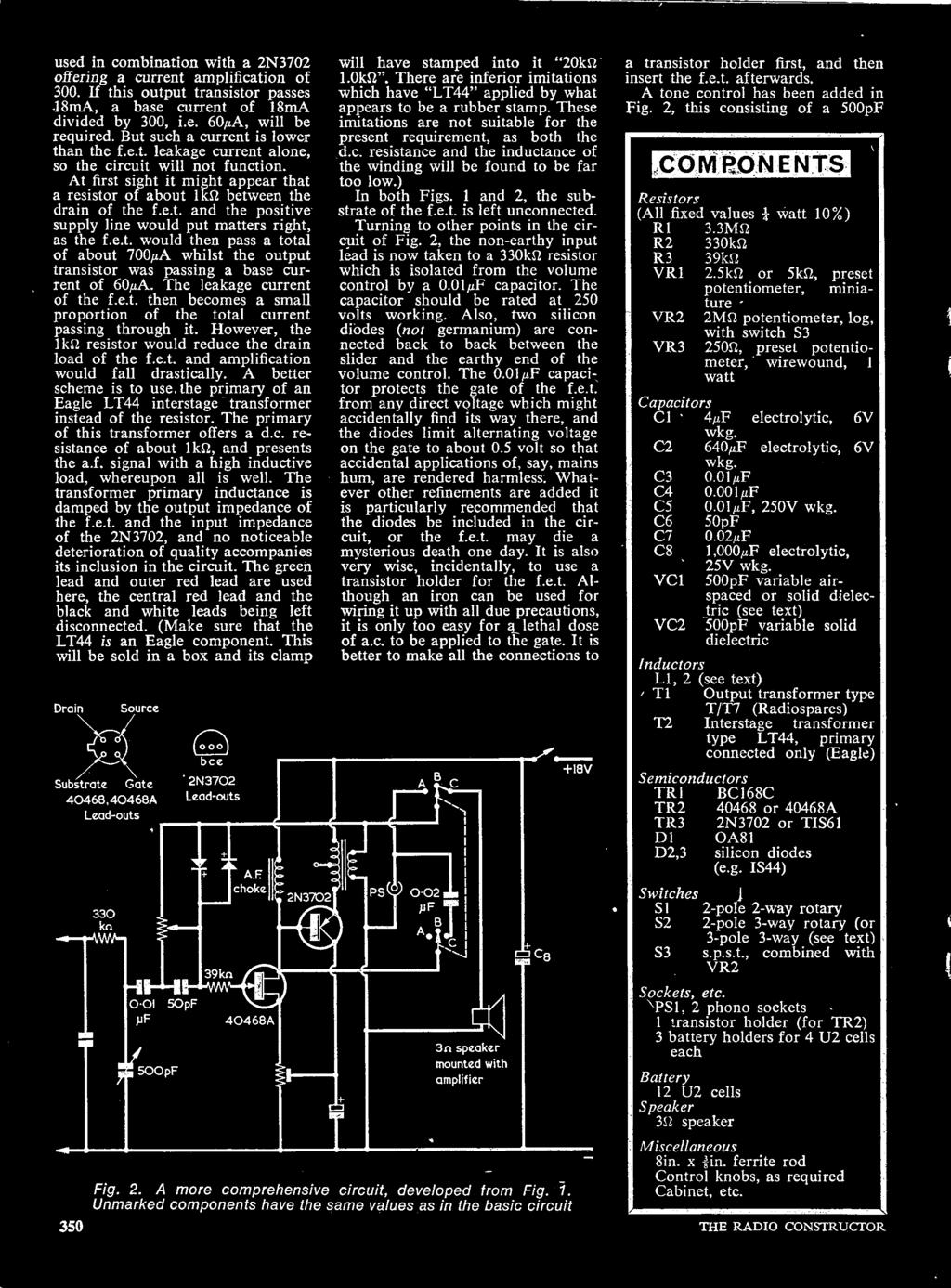 The Radio Constructor Vol 23 No 6 January 1970 Three Shillings Pdf Push Pull Pot Custom Wiring Options 1 Use Our 1215 250k A Better Scheme Is To Primary Of An Eagle Lt44 Interstage Transformer Instead