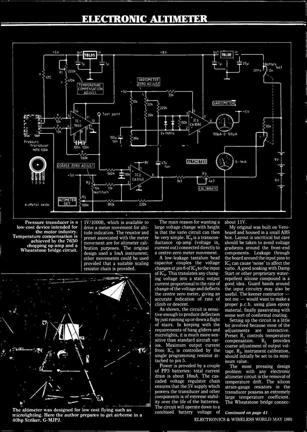 Supplies Printer Bu Enlarging Timer Bench Power May P Hjlland Dfi Commodore 64 Rev A Motherboard Schematics From 1982 Transducer Is Low Cost Device Intended For The Motor Industry Temperature Compensation