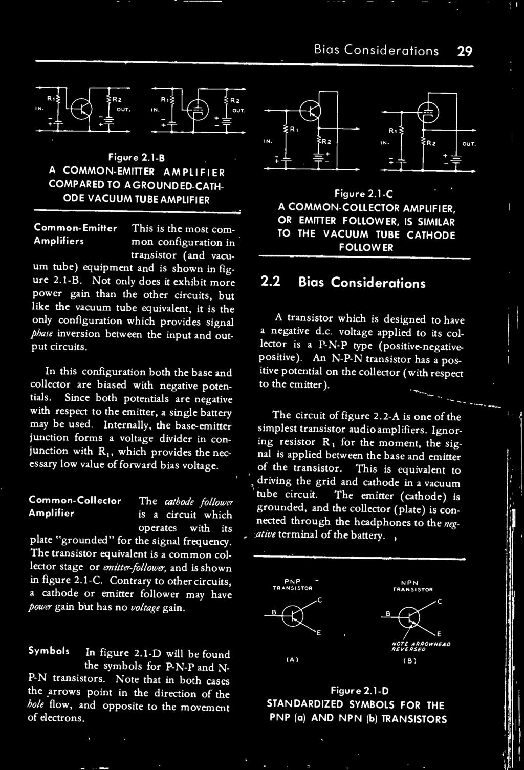 The Transistor Radio Handbook Theory Circuitry Equipment Pdf Commonbasenpntransistorcircuitjpg Circuits In This Configuration Both Base And Collector Are Biased With Negative Potentials