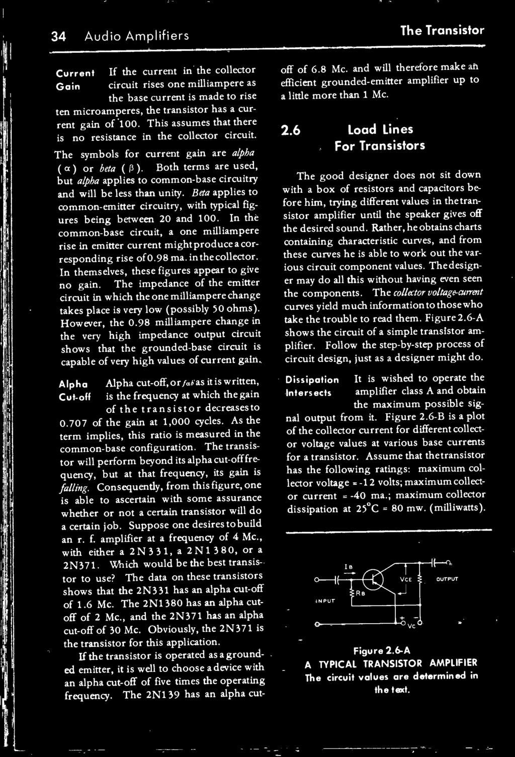 The Transistor Radio Handbook Theory Circuitry Equipment Pdf Dc Converter Further Circuits Gt 15w Inverter Circuit 12vdc To 120vac Both Terms Are Used But Alpha Applies Common Base And Will Be