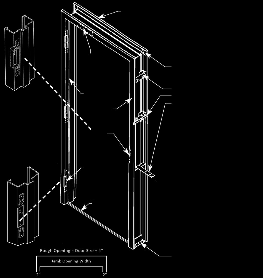 Schuham Builder S Supply Co Inc Pdf Ceeco Metal Keypad Wiring Diagram Hollow Frames Reference For A Standard Frame Offers Complete Line Of Curries Flush