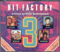 Hit Factory - Vol. 3 (UK Doppel CD Sampler) Hit Factory - Vol. 3 Format: Doppel CD Compilation / Sampler Herstellungsland: Made in England Erscheinungsjahr: 1989 Label: PWL Records Cat.-No.