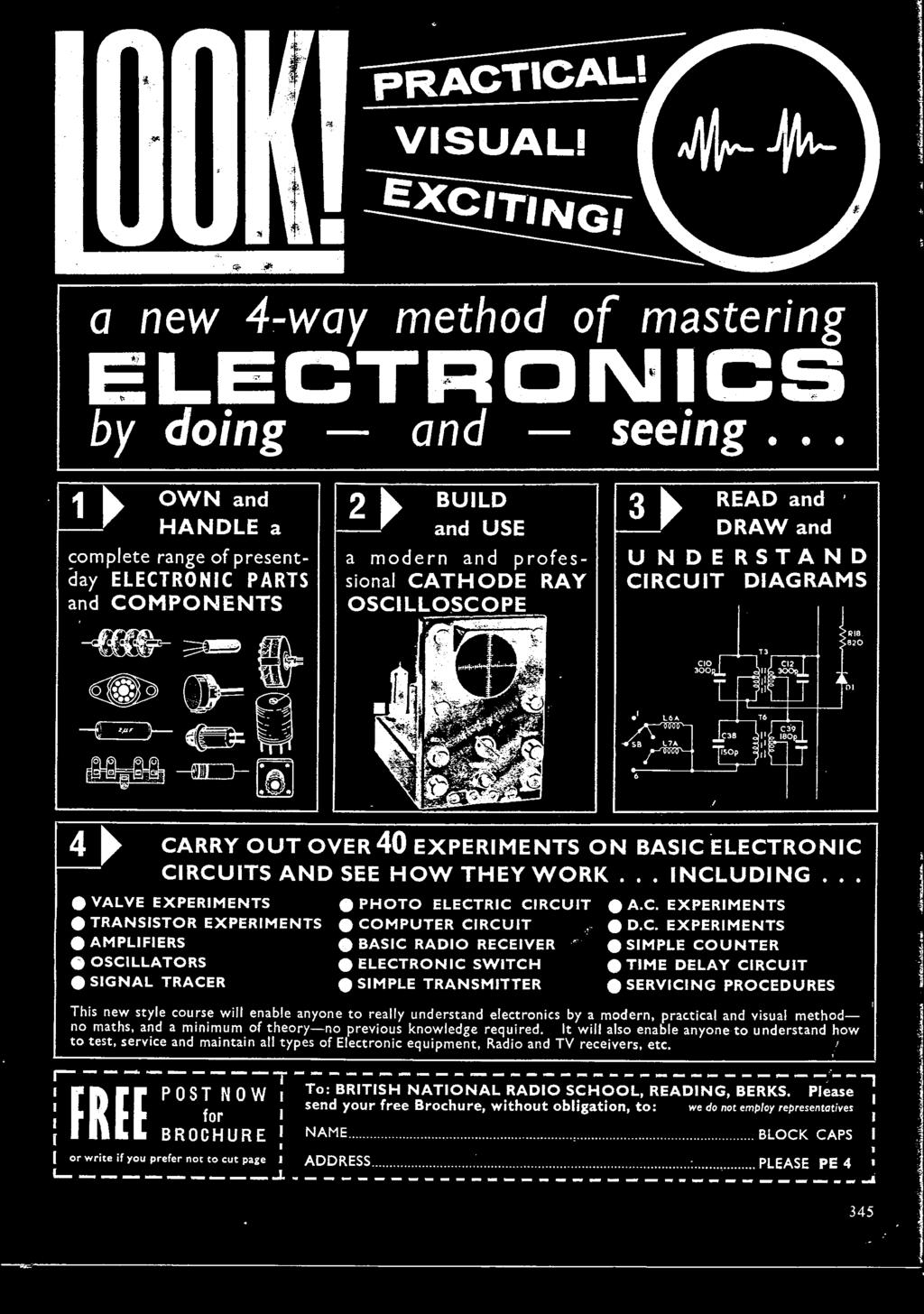 May 1963 Three Shillings Pdf Electronic Harmonium Circuit Diagram C Experiments Dc Simple Counter Time Delay Servicing Procedures This New