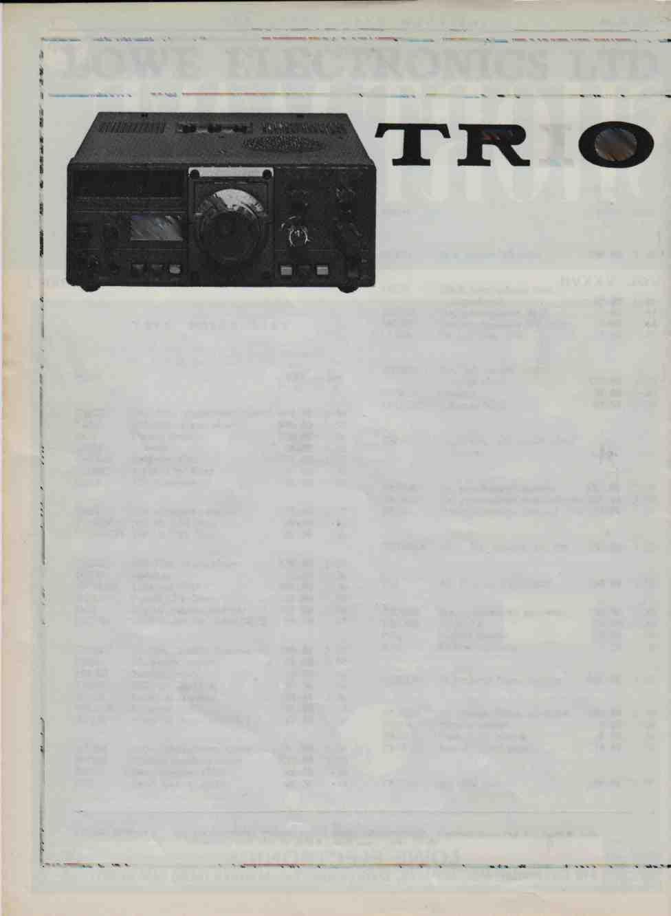 Lowe Electronics Vol Xxxvii M A Y 1979 Number Cavendish Rd 170 Wiring Diagram Ii The Short Wave Magazine May Ltd C St