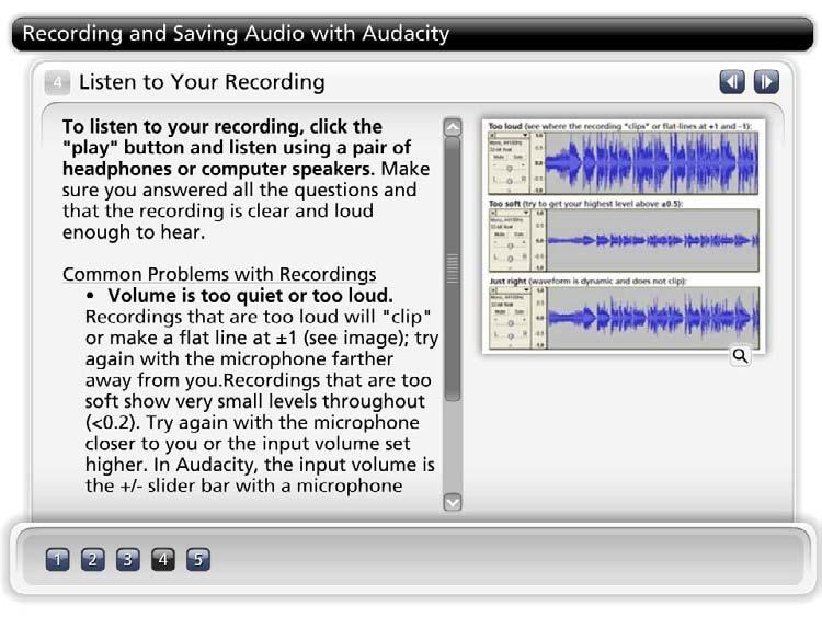Click On The Numbered Steps Below To Learn How To Record And Save