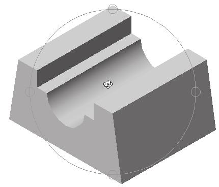 Modifying, Extruding and Revolving the Sketches 2-11 to display the shaded object as shown in Figure 2-15.