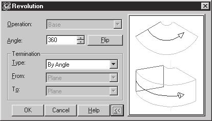 Modifying, Extruding and Revolving the Sketches 2-17 1. Choose the Open button from the Standard toolbar and open the drawing \MDT Tut\Ch-1\Tut4.dwg.