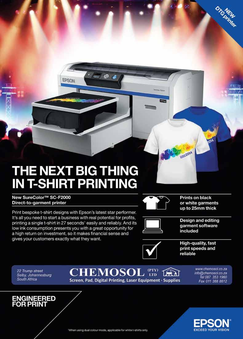 Epson Surelab D700 The Perfect Fit For Your Business 25 How To Cleaner Cs New Advamce Formula Print Head Printerplotter Printer Dtg Technology Is Designed Robust Printing Environments And Uses Up Four Variable Sized Droplets With Sizes As Small 15 Picolitres