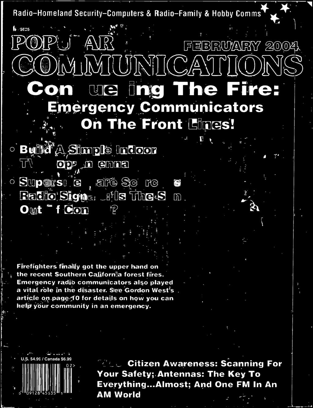 Conquering The Fire Pdf To Build An Electronic Cointoss Parts List And Pcb Layout Dummies Emergency Radio Communicators Also Played A Vital Role In Disaster