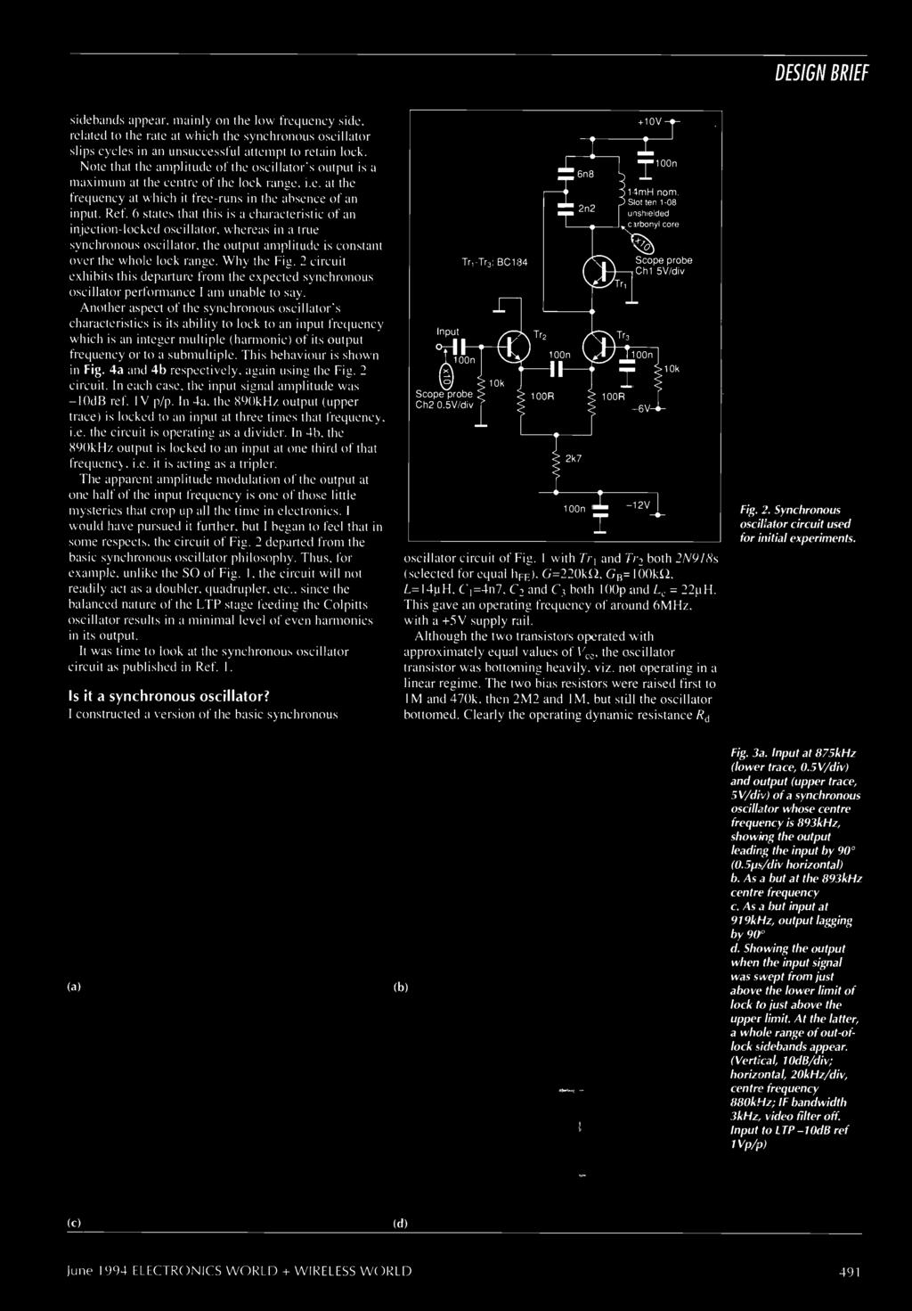 World Wireless Pdf Dcdc Voltage Doubler Simplest Possible Circuit Youtube The Apparent Amplitude Modulation Of Output At One Half Input Frequency Is