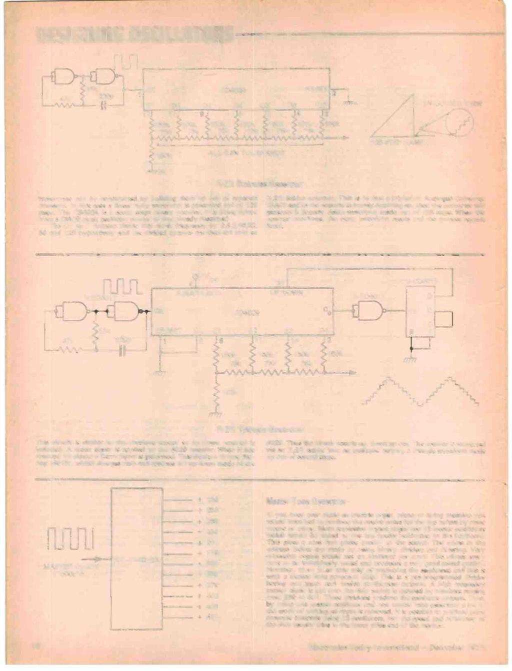 Already Knew About Tape Recording Assumed You 4i What Everybody Circuit Diagram Of Uniline Ups Designing Oscillators Z 15k 1 4 K 220p Ck Q1 12 Q2 11