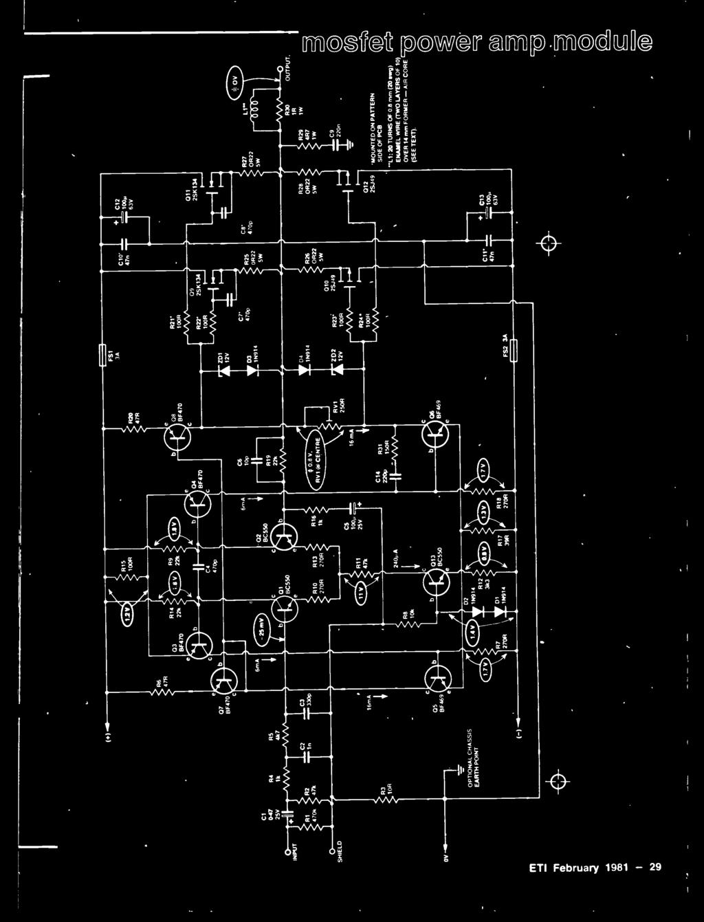 Ile Stereo Amp Distortion International Today Electronics Dog Repeller Schematics Needed And More 2sk134 F R27 0522 5w L1 530 Output