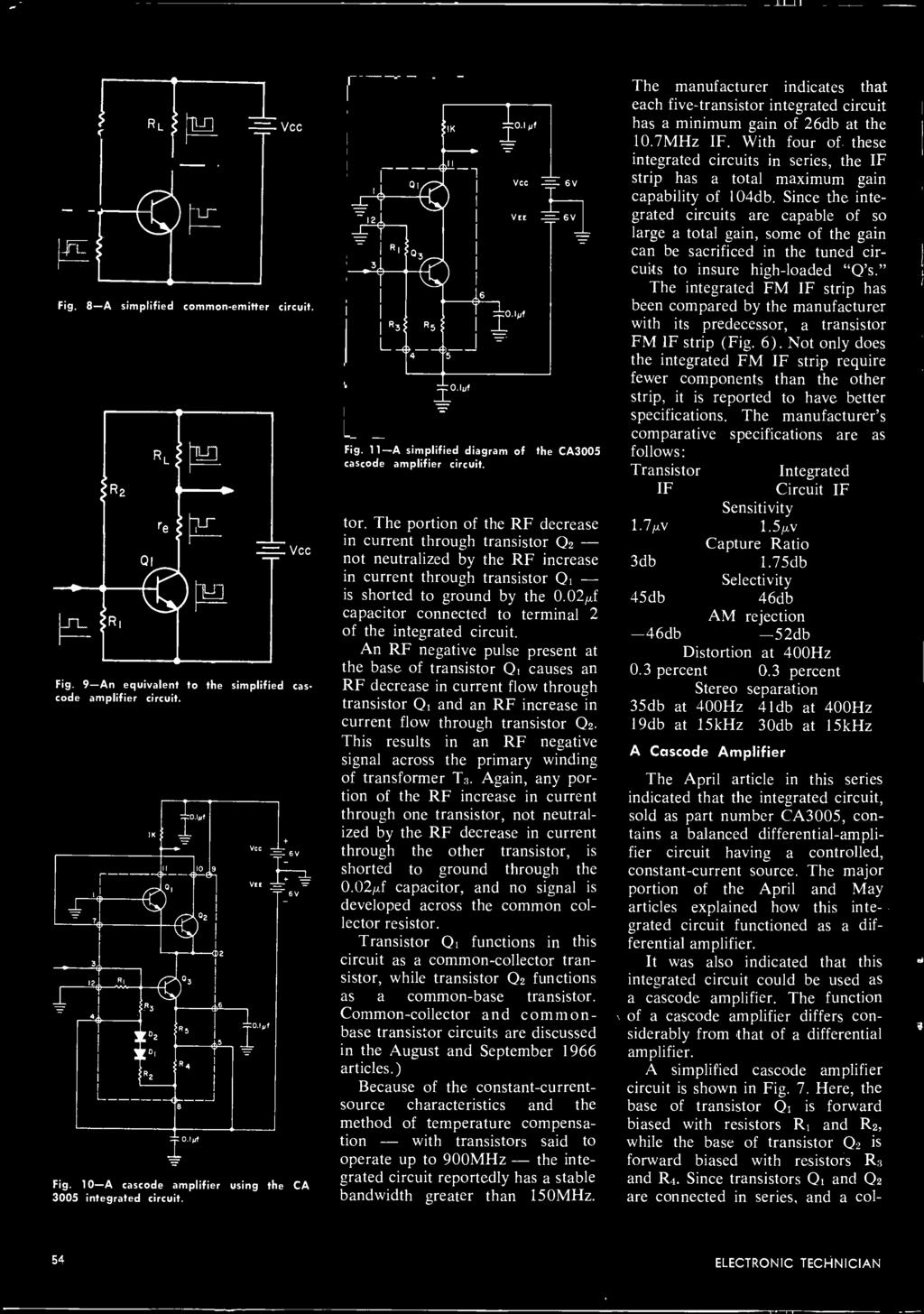 Servicing A Modern Color Tv Protecting Electronic Circuits The Blaupunkt 420 Bt Wiring Diagram 024 Capacitor Connected To Terminal 2 Of Integrated Circuit