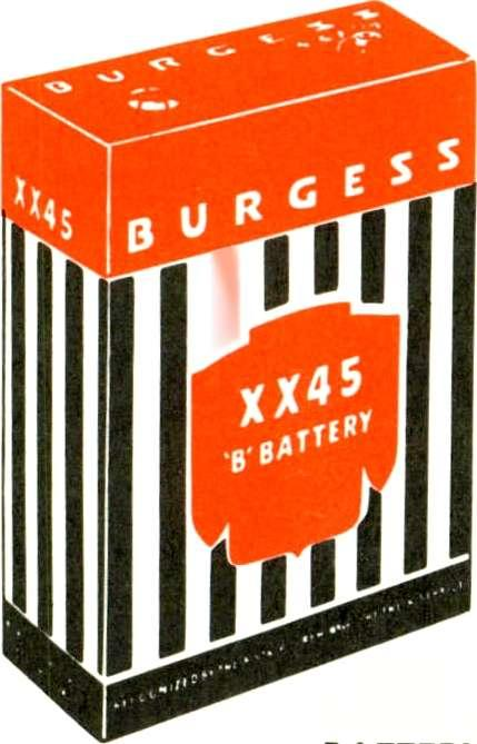 .. and there's no question about the manufacturing source, either. You can be sure that every Burgess Battery you sell is a product of Burgess Battery Company.