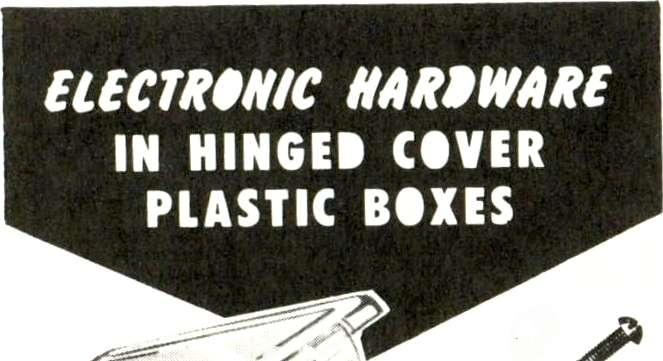 .. insist upon G -C hardware in the Hinged Cover Line!