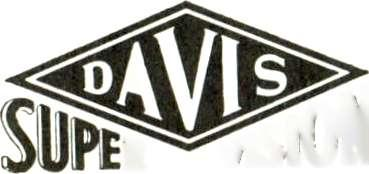 "11e41, latineved DAVIS SUPER VISION TELEVISION ANTENNA WIND -TESTED and WEATHERIZED SUPER Asa ""THE ORIGINAL ANTENNA SOLD WITH A MONEY -BACK GUARANTEE"" UNBEATABLE FOR FRINGE AREA OR DX 1."