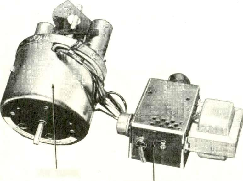 It consists of a turret type tuning mechanism contained in a cylindrical shaped can.