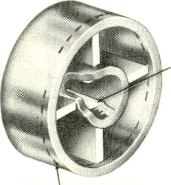 The sketch in Figure 1 shows a style of control knob that has proved tobe a frequent offender. There are two opposing keys in the center hole of the knob.