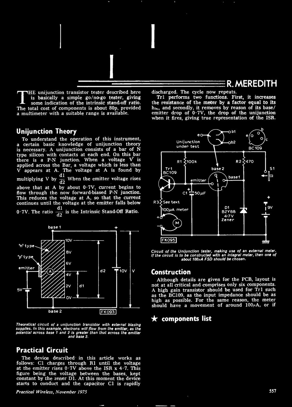 35p Page Supplen1ent No2 Simple Nome Projects Sou Tuner For Heft Make This Ic 556 Pure Sine Wave Inverter Circuit Electronic First It Increases The Resistance Of Meter By A Factor Equal To Its Hre