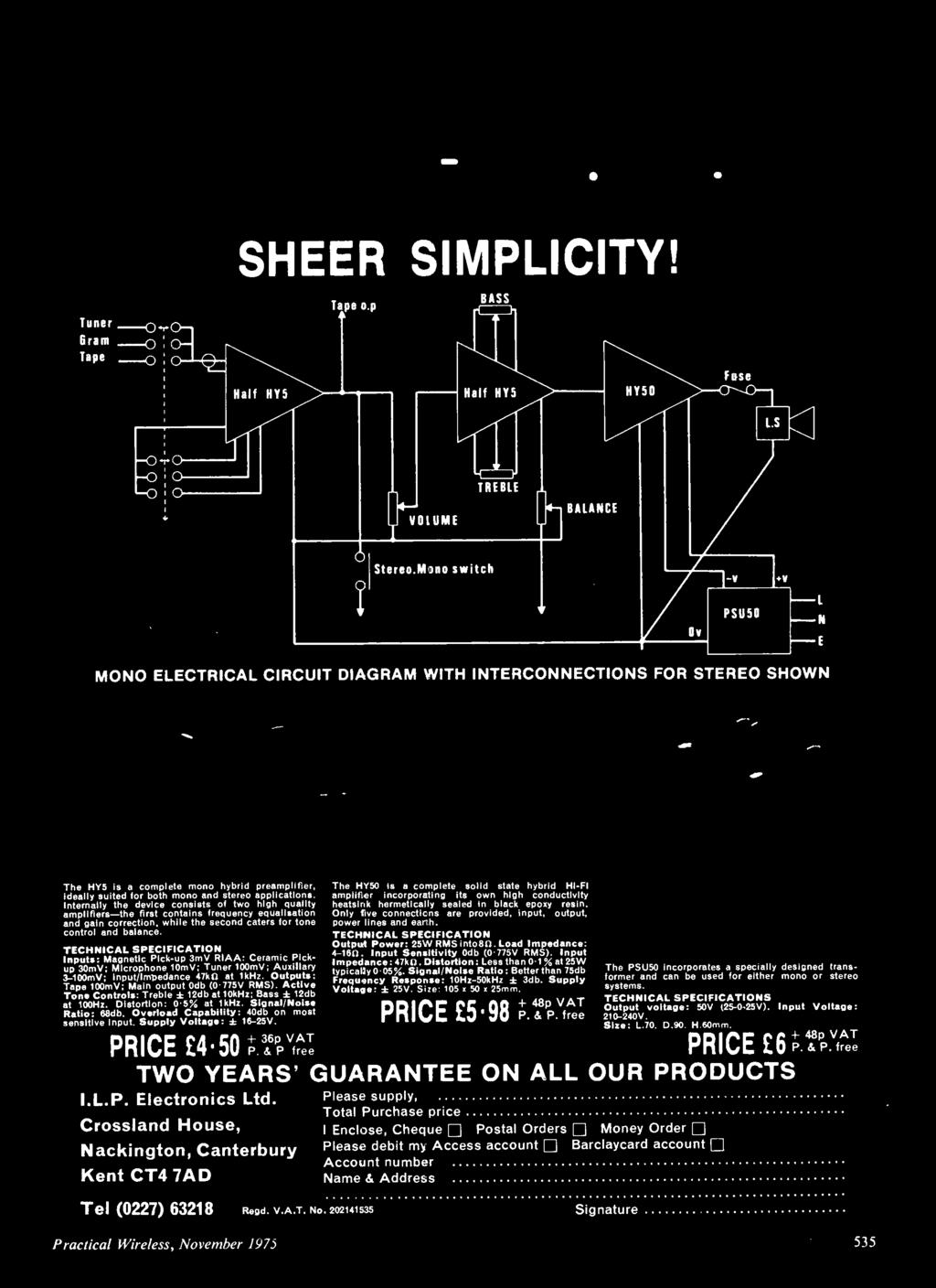 35p Page Supplen1ent No2 Simple Nome Projects Sou Tuner For Heft Circuit Diagram Schematic Likewise Toy Organ 555 Timer Only Five Connecticns Are Provided Input Output Power Lines And Earth Technical