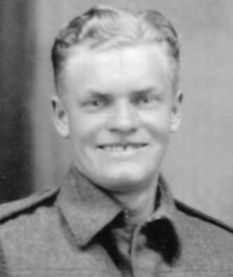 He first joined the Royal Canadian Artillery but was assigned to RCEME. He was sent to the Postal Corps in Bournemouth, England then to London for driver training and spent two years delivering mail.