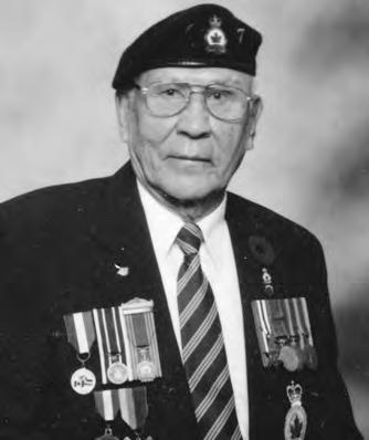 He received basic training at Portage La Prairie, advanced training at Nanaimo, BC and shipped overseas to England and Italy where he was wounded then to Northwest Europe.