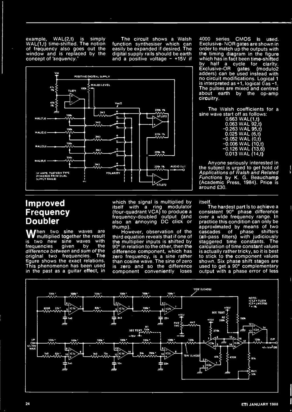 Satellite Tv A Down To Earth Guide Pdf Induction Cooker Circuit Signalprocessing Diagram Exclusive Or Gates Modulo2 Adders Can Be Used Instead With No Modifications