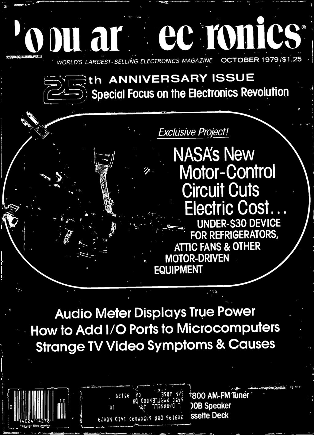 Ales Th Anniversary Issue Audio Meter Displays True Power Nasas New Jameco Kitpro Circuit Skills Easy Led Color Organ Kit Unassembled To Microcomputers Strange Tv Video Symptoms Causes 0 4024 4278 Popu A Electronics Iii 62