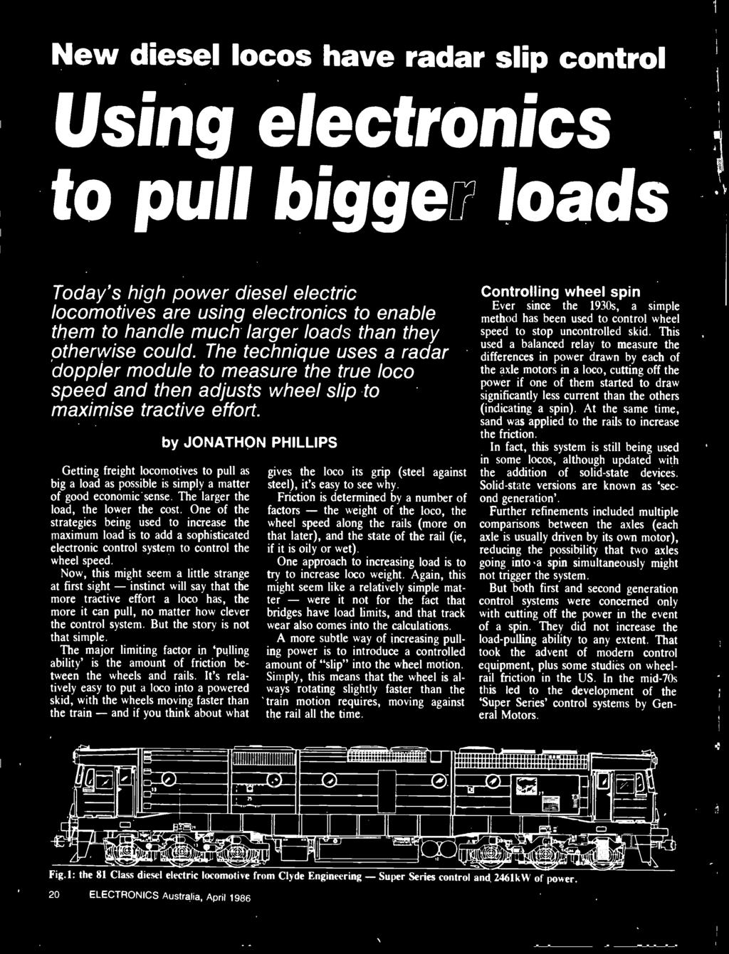 Australias Top Selling Electronics Magazine April 1986 Aust 5vdc Mini Circuit Board For Speedy Triumph Forum Rat Now This Might Seem A Little Strange At First Sight Instinct Will Say That