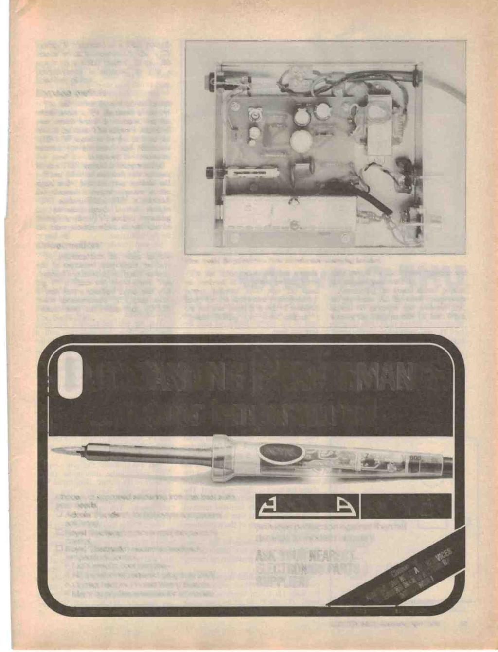 Australias Top Selling Electronics Magazine April 1986 Aust Metal Detector Into A Lrl Long Range Locator Friendly Module Is Connected To 20kfi Potentiometer Which The 12v Supply Via