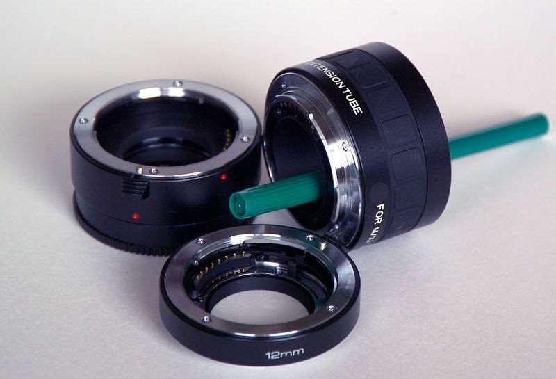 Lenses in Macro Photography extension tube and bellows Hollow tubes used to extend