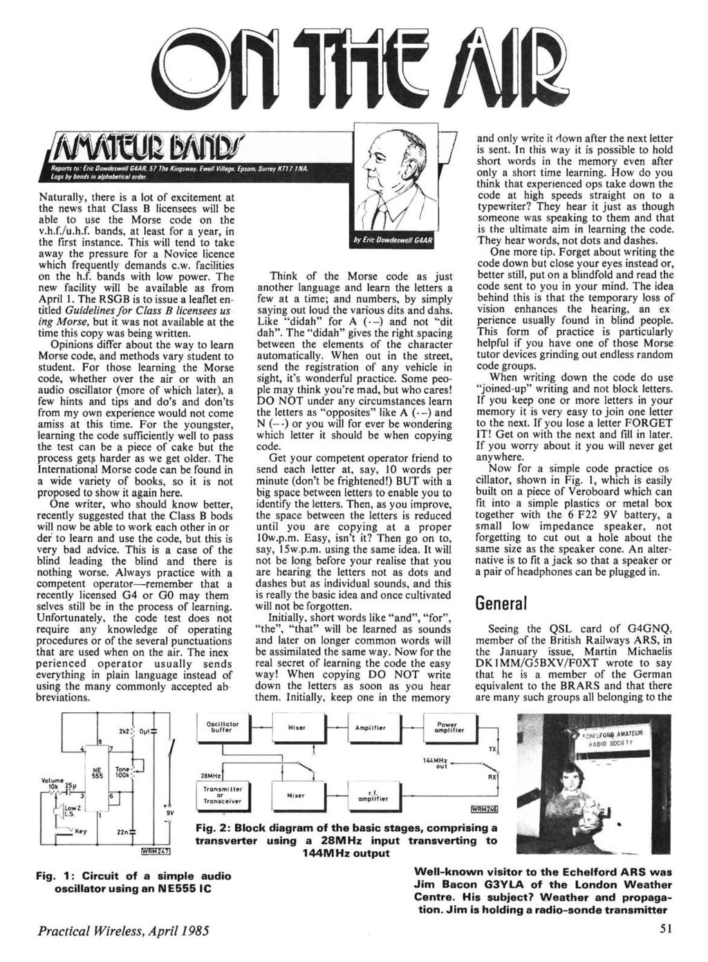 Pw Colne With Audio Agc Direct Conversion Receiver Pdf Figure 2 3 Am Radiotelephone Transmitter Block Diagram Naturally There Is A Lot Of Excitement At The News That Class B Licensees Will