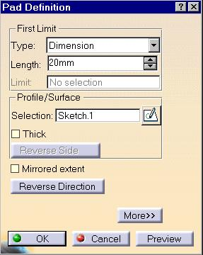 Creating a Simple Pad 1 Select the