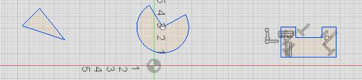 Trim (T) Trim lets you trim extra bits from curves and lines. 1. Select one line or curve on the piece of the line or curve that should be eliminated 2. Repeat as necessary Try it: Creating Trim 3.