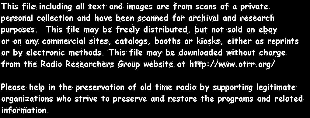 This file including all text and images are from scans of a private personal collection and have been scanned for archiydl archival and research purposes.