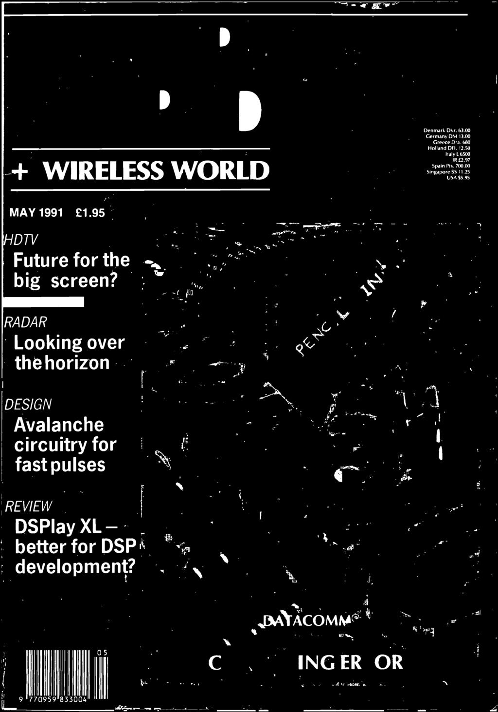 Wireless World Circuitry For Fast Pulses Better Dsp Big Lm380 Audio Voiceover Circuit Schematic Circuits Electronic Auido 7 Radar Looking Over The Horizon Design Avalanche