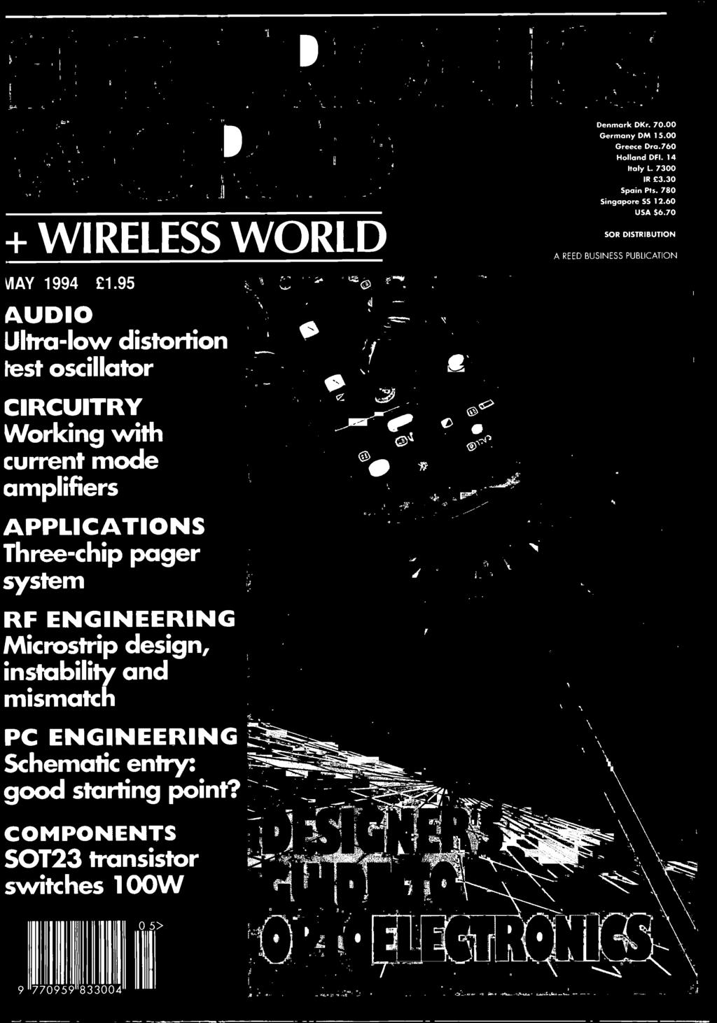 World Wireless Pdf Kembrey Wiring Systems Amplifiers Applications Three Chip Pager System Rf Engineering Microstrip Design