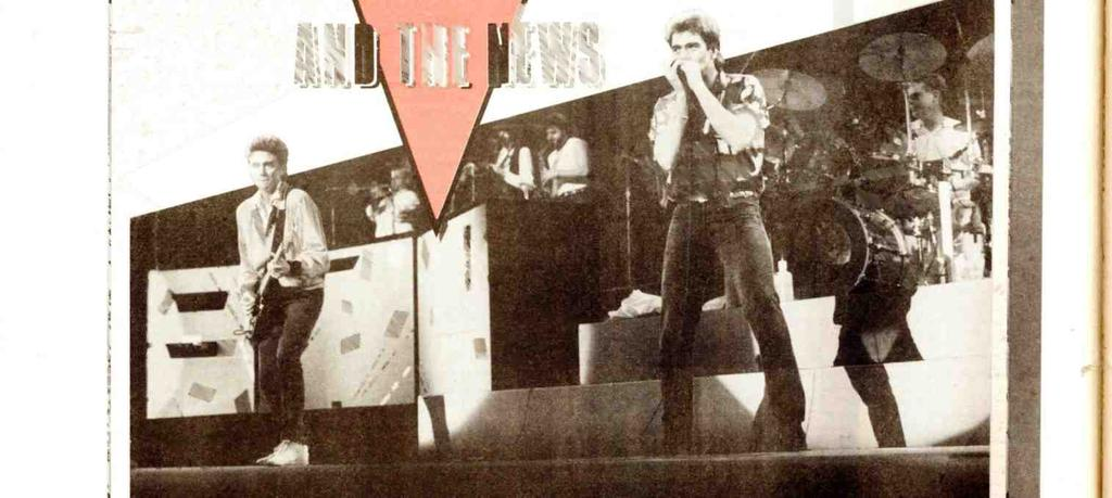 Huey Lewis & The News the