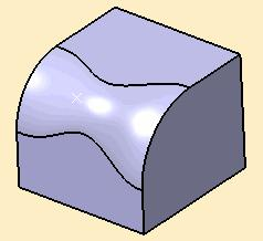 Modify the radius at the points by doubleclicking on the dimensions. 5.