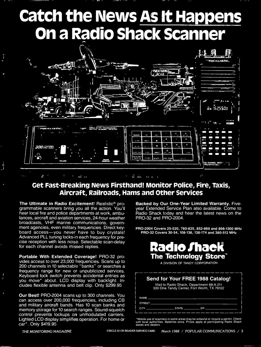 Take Your Scanner To The Races Pdf Telephone Wiring Block Radio Shack Selectable Scan Delay For Each Channel Avoids Missed Replies Portable With Extended Coverage