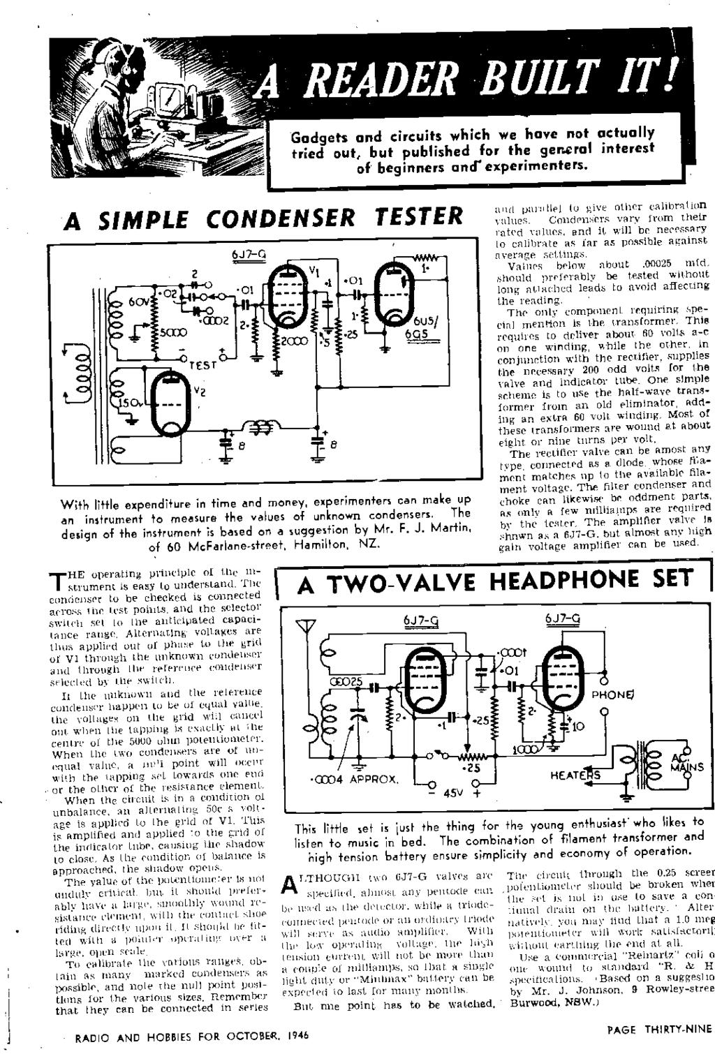 Hobb A Crystal Set For Beginners Radio Rocket Era Story On Pogo 3 Timer With Alarm Circuit P Marian 4060 Timers To Gadgets And Circuits Which We Have Not Actually Tried Out But Published The