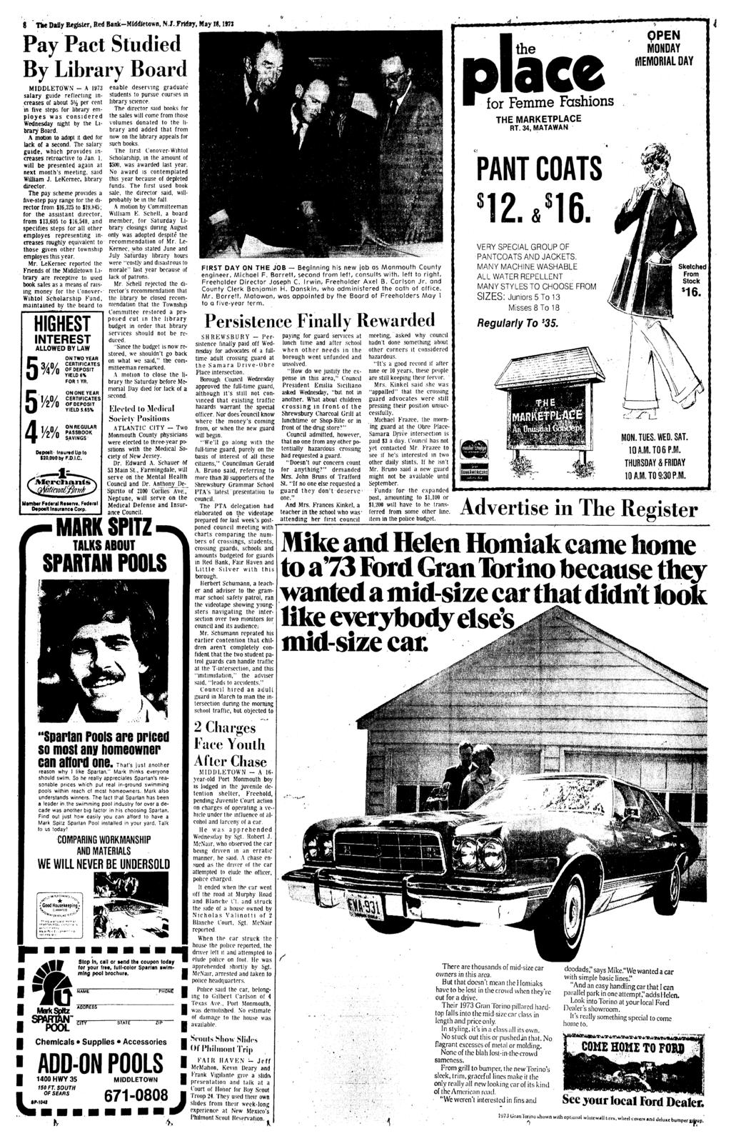 7 Monnioutli Countys Outstanding Home Newspaper Red Bank Nj Harness Routing Under Hood For 1973 Amc 6 Cylinder Hornet Matador And Gremlin The Dally Register M Wdjetown N J