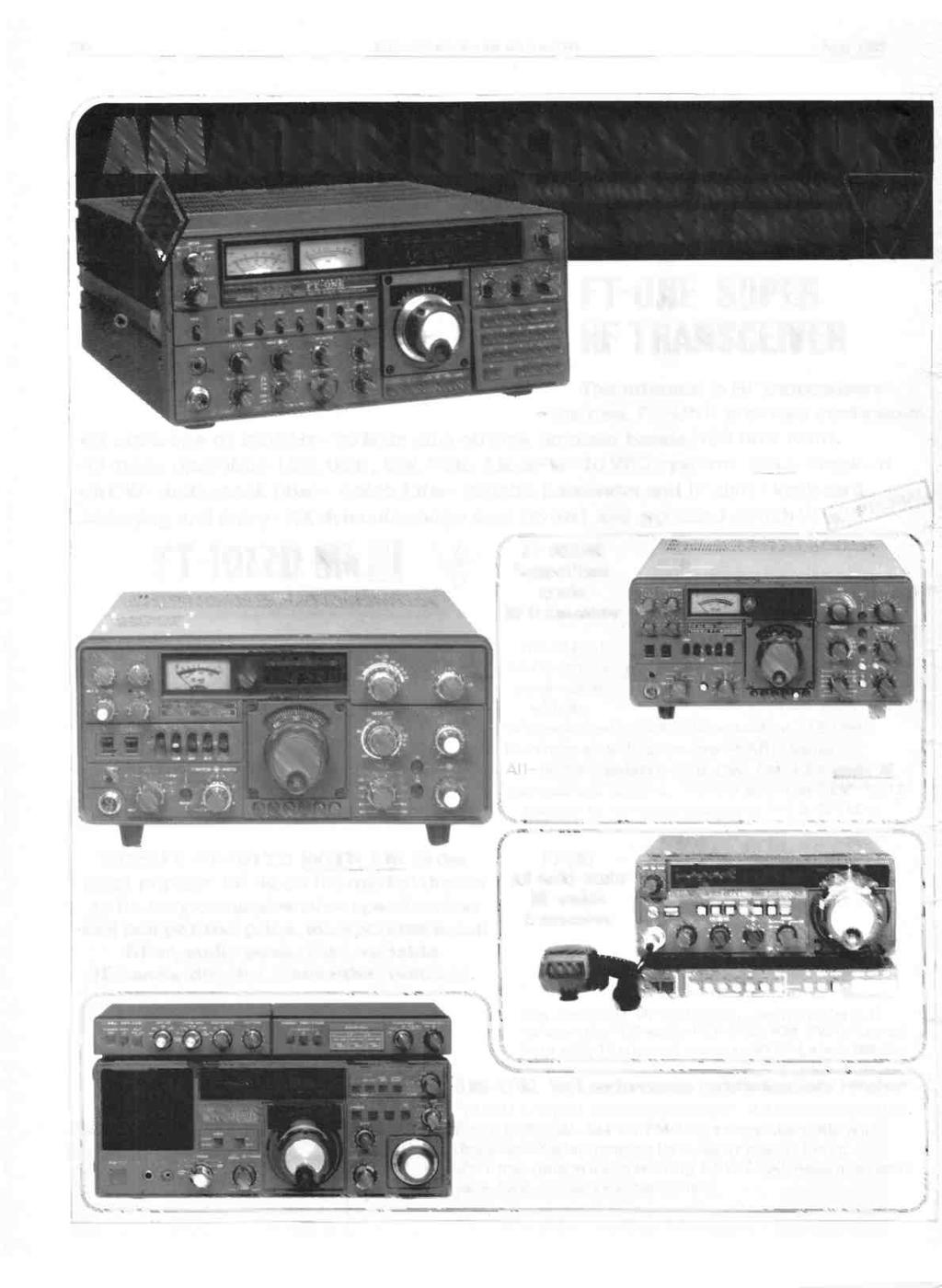 July Associated Products Indeed A Wide Range Application Of La 4440 Stereo Amplifier Hobby Circuits And Projects 230 The Short Wave Magazine 1982 Ateur Electronics Uk Your Number One Source