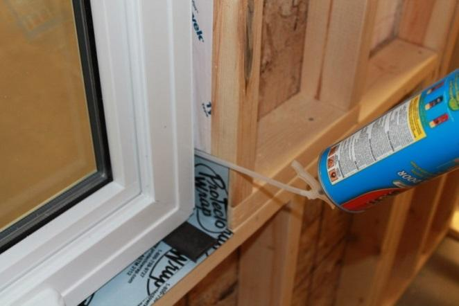 14 Step 16) - Use either fiberglass insulation or minimal expanding window foam