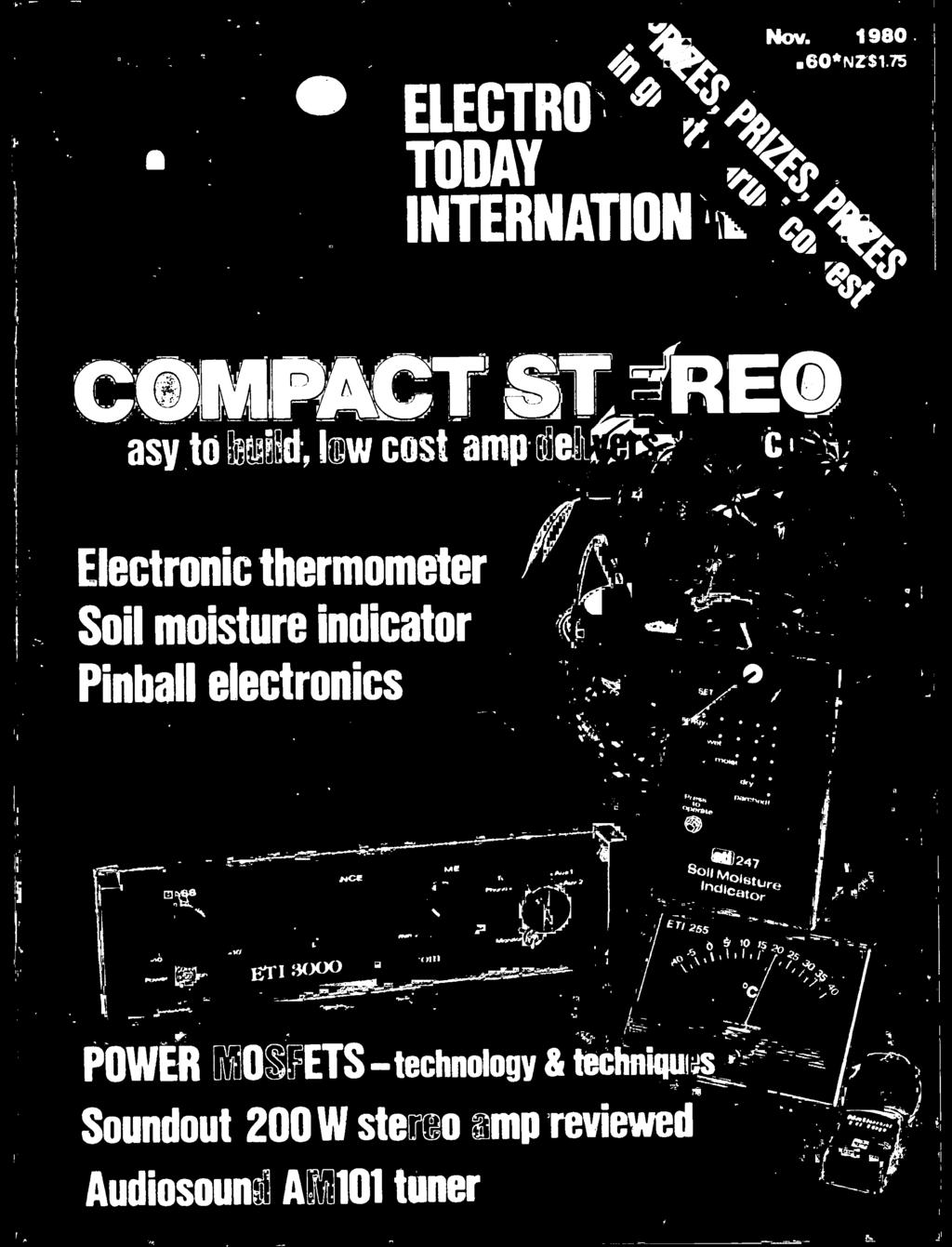 I COMPACT ST?RE INTERNATION ELECTRO TODAY. Electronic