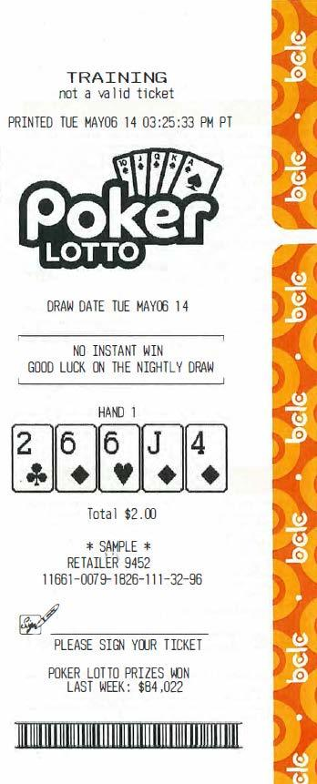 Lotto! Online Product Guide - PDF