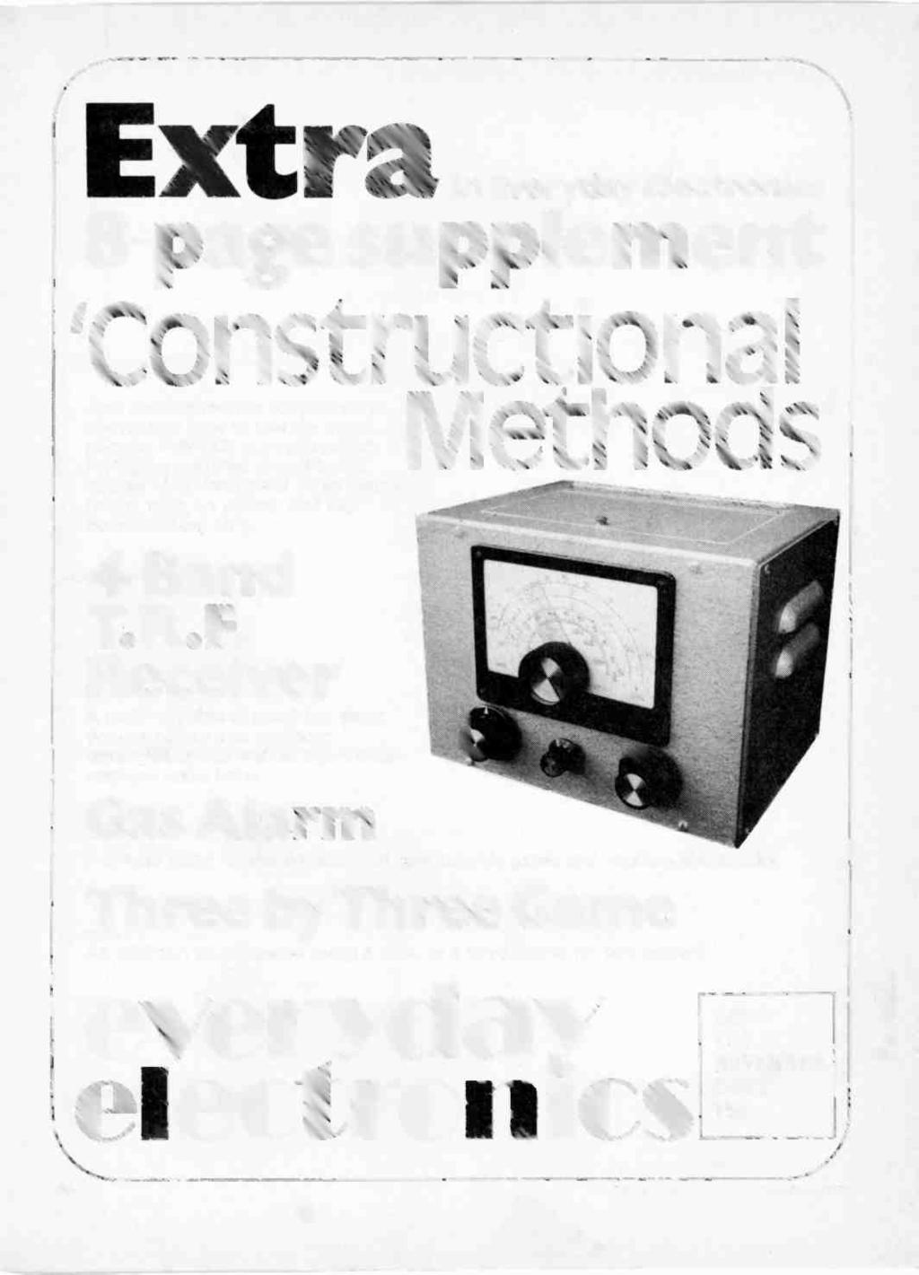 Electro Ics A I Constructor November P Also Eight Channel Ic Plain Copperclad Fibreglass Circuit Board Rapid Online Ext In Everyday Electronics 8 Page Supplement Constructional This Comprehensive Shows You How Matrix
